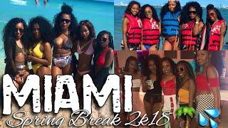 HBCU COLLEGE VLOG #1| SPRING BREAK 2K18| WE WENT TO MIAMI!!!!