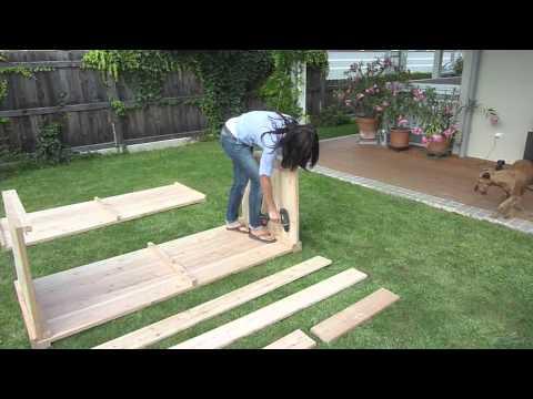 Bauanleitung Bauer Holz Hochbeet Youtube
