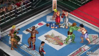 Fire Pro Wrestling World - A handful of Capcom-themed matches