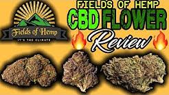 |Fields Of Hemp| CBD Hemp Flower Review [ALL STRAINS]