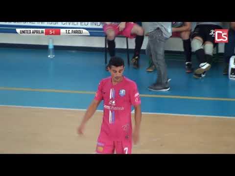 Calcio a 5, Serie C1: United Aprilia - TC Parioli, highlights e interviste