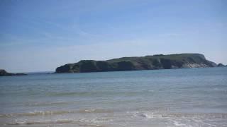 La plage de l'Aber, Tal Ar Groas, Crozon