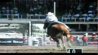Calgary Stampede 2011 - Ladies Barrel Racing