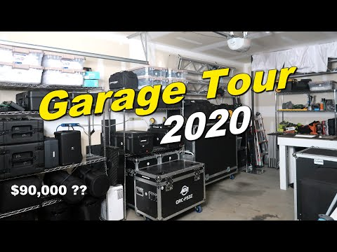 FULL DJ GEAR TOUR | All My Equipment | Speakers Lights Stage Truss Cables Stands