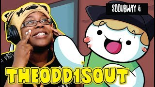 TheOdd1sOut Sooubway 4: The Final Sandwich | Storytime Animation AyChristene Reacts