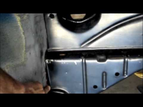 Vw Bug Sheet Metal Replacement Part 2 Youtube