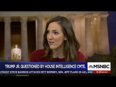 Interview on Hardball following Donald Trump Jr. testimony