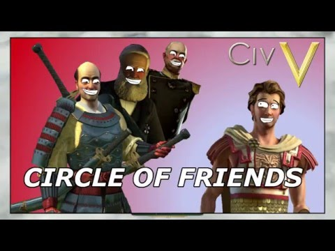 Civilization V: Circle of Friends - Hunting with Hunter