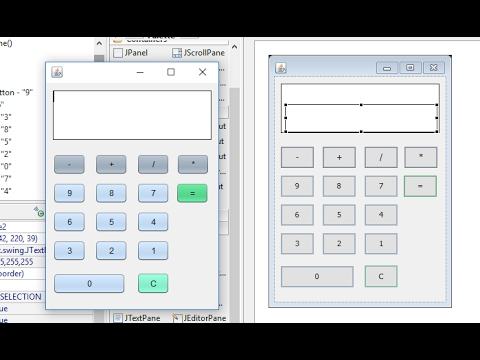 Calculator Program in Swing
