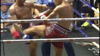 Muay Thai Fight - Sprinter vs Wanchalong, Rajadamnern Stadium Bangkok - 2nd July 2015