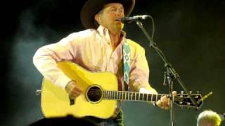 George Strait at the Stagecoach Festival in Indio, Ca.