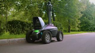 Security Robots Patrol |Technologies | 2017