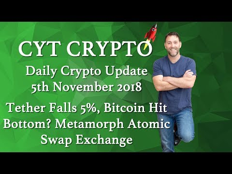 🔥Tether Falls 5%🔥 Bitcoin Hit Bottom? 🔥 Metamorph Atomic Swap Exchange🔥