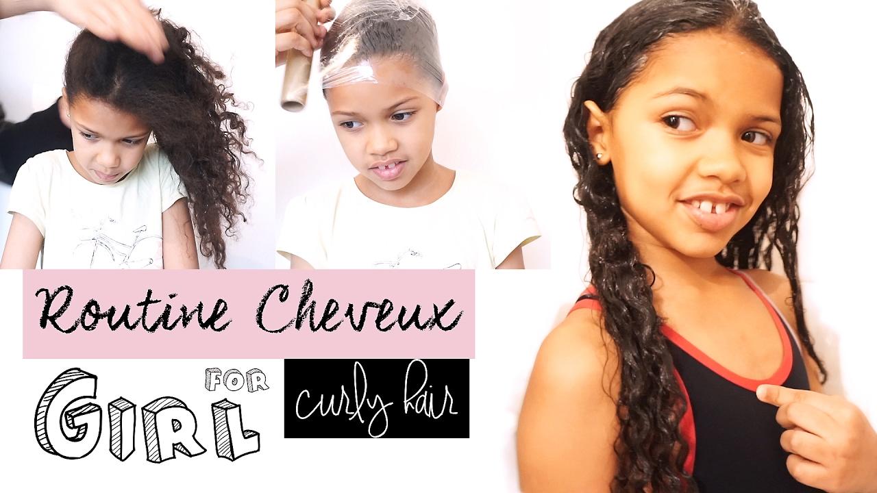 Routine Capillaire Pour Enfant Cheveux Boucles Frises Crepus