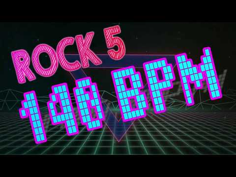 140 BPM - Rock #5 - 4/4 Drum Track - Metronome - Drum Beat