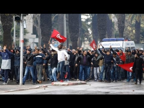Protests follow Tunisian opposition assassination