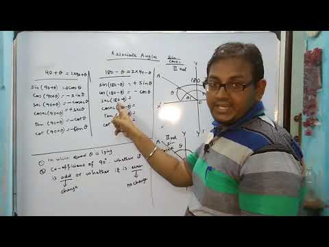 Associate Angles Introduction Trigonometry Lecture 2