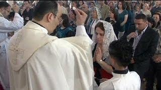 Orta Doğu'nun Hristiyanları geleceklerini arıyor