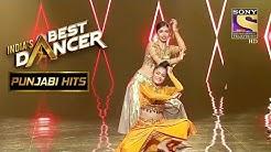 Swetha Bhawna  Stage Create Magic Indias Best Dancer Punjabi Hits