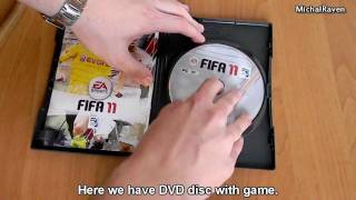 FIFA 11 PC - Unboxing PL/ENG