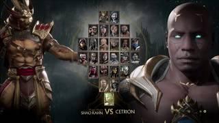 Mortal Kombat 11 Shao Kahn V Sonya