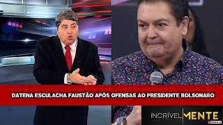 Datena esculacha Faustão após ofensas ao Presidente Bolsonaro. INSCREVA-SE NO CANAL thumbnail