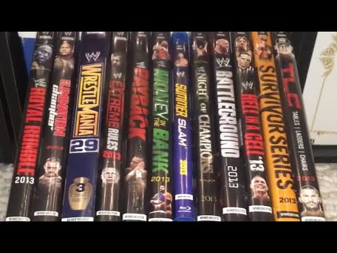 wwe 2013 ppv dvd collection review youtube