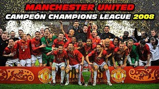 Manchester United 👹 CAMPEÓN CHAMPIONS LEAGUE 2008 🏆