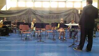 Concrete High School jazz band 0560