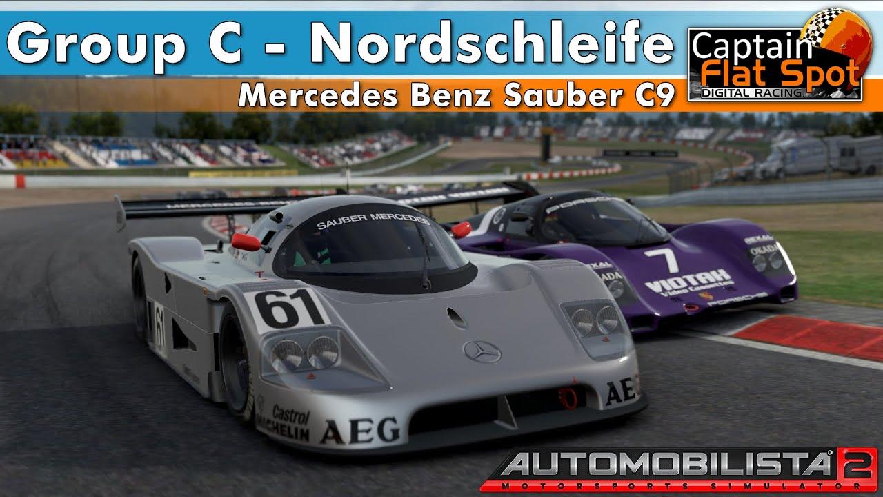 Sauber C9 Group C Nordschleife Automobilista 2