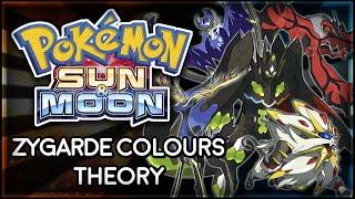 Pokémon Sun and Moon | Zygarde Colours Theory