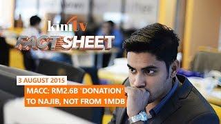 Fact Sheet - August 3: MACC: RM2.6b