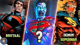 Dark SUPERMANs In DC (Part 2)  In HINDI @Cartoon Freaks ​