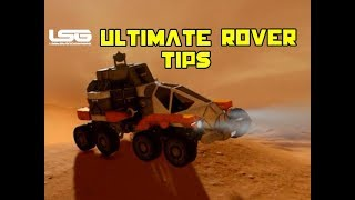 Ultimate Rover Building Tips & Tricks Ft Hammerman - Space Engineers