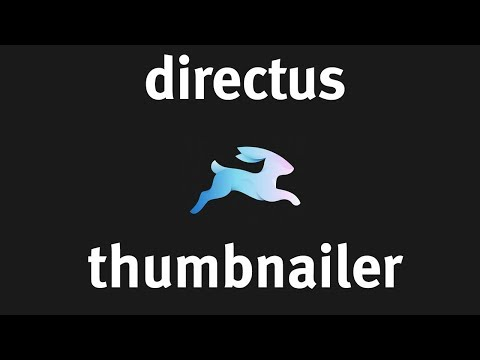 Easy Automatic Thumbnails with Directus