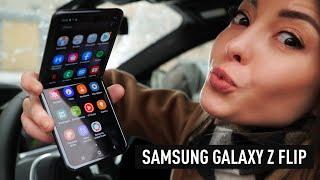 распаковка Samsung Galaxy Z Flip - любовь с первого взгляда?