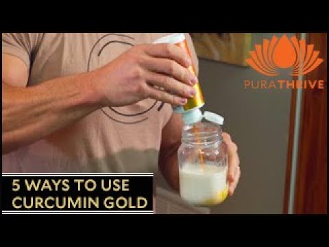 5 Ways to Use Curcumin Gold: Easy Recipes | PuraTHRIVE- Thomas DeLauer