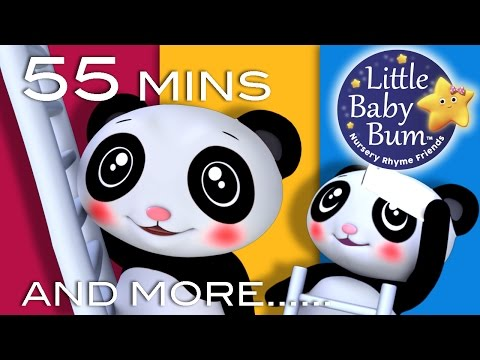 Star Light Star Bright | Plus Lots More Nursery Rhymes | 55 Minutes Compilation from LittleBabyBum!