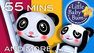 Star Light Star Bright | And More Nursery Rhymes | 55 Minutes Compilation from LittleBabyBum