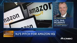 New Jersey Governor makes case for Amazon to come to Newark