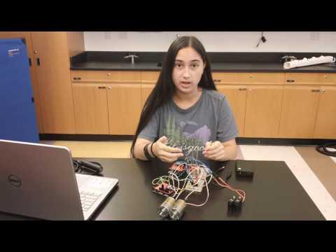 Bryanna's Second Milestone - Gesture-Controlled Robot