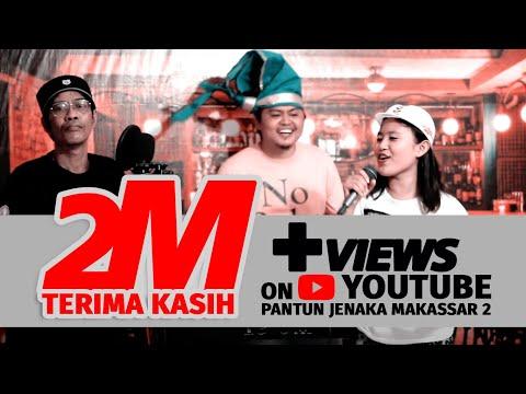 PANTUN JENAKA MAKASSAR 2 - Musisi Jeneka Makassar ( Official Music Video )