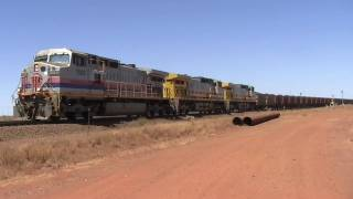 Super-Heavy  Iron Ore Train !