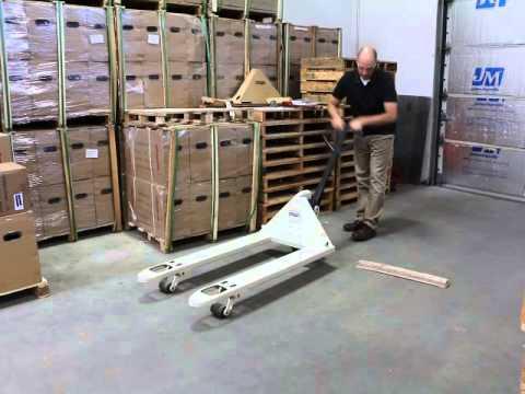 pallet flipping machine