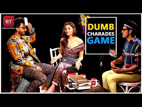 Gully Boy Starcast Ranveer Singh, Alia Bhatt Played Fun Filled Action-Packed Dumb Charades Round Mp3