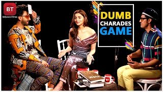 Gully Boy Starcast Ranveer Singh Alia Bhatt Played Fun Filled Action-Packed Dumb Charades Round