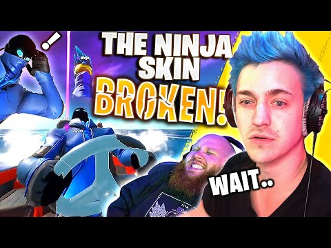 SEASON 2 BROKE THE NINJA SKIN!?