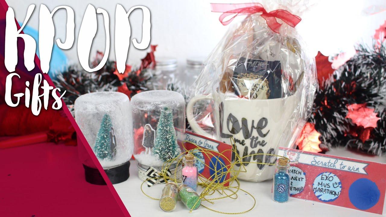 kpop diy christmas kpop gift ideas easy and cheap seventeen big bang exojessica k ristmas2 youtube - Big Christmas Gifts
