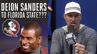 DEION SANDERS reportedly in the mix to coach FSU | Kanell & Bell