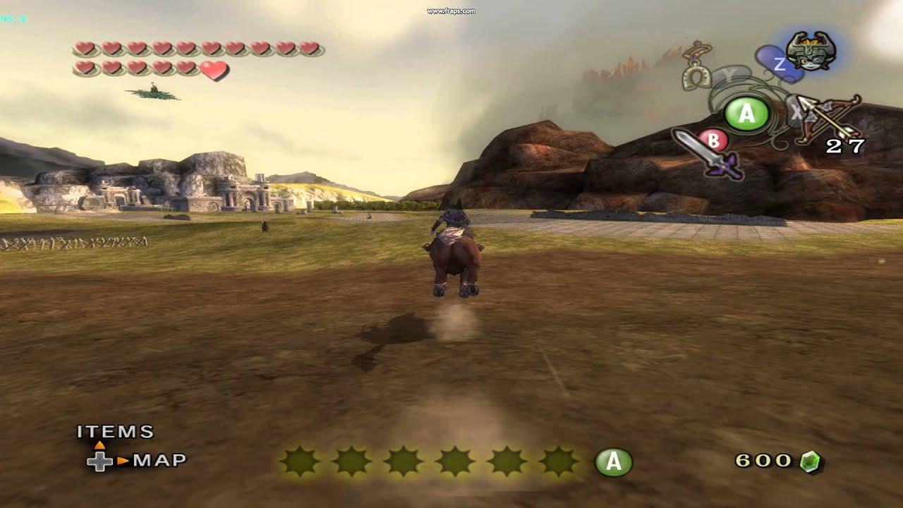 Zelda Twilight Princess Hyrule Field Speed Up Patch Youtube